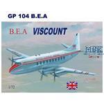 Vickers Viscount 700 British European Airways