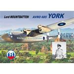 Avro 685 York - Lord Mountbatten