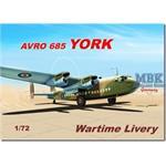 Avro 685 York - Wartime