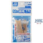GT-118 Mr Cotton Swab Set Wooden Stick