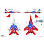 "MIG-29  9-13  ""Fulcrum C""  ""Russian Swifts"""