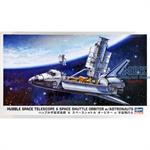 Hubble Space Teleskop w/ Space Shuttle 1/200