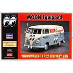 Volkswagen Type 2 Delivery Van Moon Equipped  1/24
