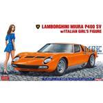 Lamborghini Miura P400 SV w/ Italian Girl