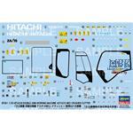 Hitachi Bagger/ Doppel Arm mit Brecher + Schneider