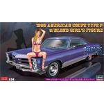 1966 American Coupe Type P w/ Girl's Figure SP424