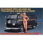 Volkswagen Typ 2 Lieferwagen + blonder Frau  SP463