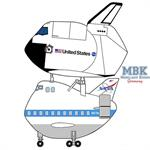 EGG PLANE Raumschiff Orbiter und B747