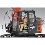 Hitachi Bagger Excavator ZAXIS 135US    WM01  1/35