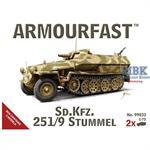 German Sd.Kfz.251/9 Stummel (2er Set)