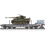 Schwere Plattformwagen Type SSyms w/ Tiger I