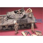 M10/M18 TANK CREW (4 FIGURES) & SUPPLIES