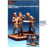 Nebelwerfer Crew I (3 Fig.) w/Base