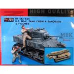 US M5A1 Tank Crew & Sandbacks
