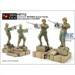 LVT4 US Marines Gunners (2 Figuren)