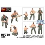 U.S. ARMY ARTILLERYMAN IN KOREAN WAR (Set A)