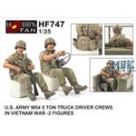 U.S. Army M54 Driver Crews In Vietnam War