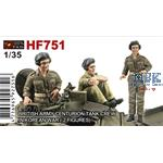 British Army Tank Crew Korean War (2 Figures)