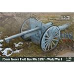 75mm French Field Gun Mle 1897 - WW1