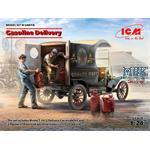 Gasoline Delivery, Model T 1912 + Gasoline loaders