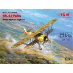 CR.42 Falco, WWII Italian Fighter