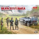 Sd.Kfz.251/1 Ausf.A w/ German Infantry