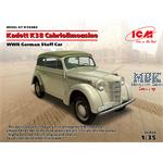 Kadett K38 Cabriolimousine, WWII German Staff Car