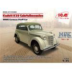 Kadett K38 Cabriolimousine, WWII German Staff Car