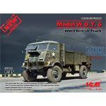 Model W.O.T. 6, WWII British Truck