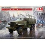 Studebaker US6 with WWII Soviet Drivers