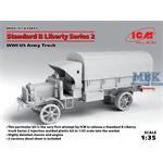 """Standard B """"Liberty"""" Series 2, WWI US Army Truck"""