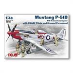 P-51D Mustang + Pilot/Crew