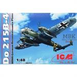 Do 215B-4,WWII German Reconnaissance Plane