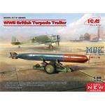 WWII British Torpedo Trailer