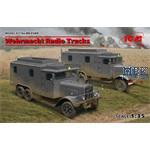 DIORAMA SET - Wehrmacht Radio Trucks