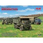 DIORAMA SET - WWII British Trucks