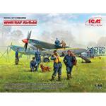 DIORAMA SET - WWII RAF Airfield