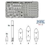 SB2C-4 Helldiver weapon set 1/32