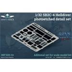 SB2C-4 Helldiver photoetched detail set 1/32