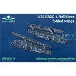 SB2C-4 Helldiver folded wings 1/32