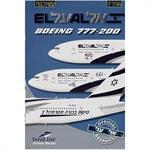 Boeing 777-200 El-Al - Israel Airlines 1:144