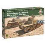 Semoventi M13/40 - M14/41 - M40 - M41 28mm   1/56