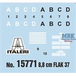 8,8cm Flak 37 w/ Crew - 7 Figuren   28mm   1/56