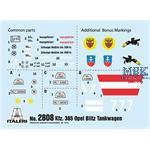 """Sd Kfz 385 Opel Tankwagen """" Battle of Britain""""1/48"""