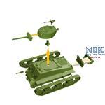 Sherman  WoT fast Assembly Kit  1/72