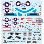 War Thunder P47N + P51D  1/72