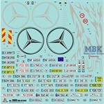 Mercedes Benz Actros MP4 Gigaspace 1:24