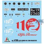 Alfa Romeo 8C  2300 Roadster 1:12