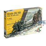 Horse drawn Breda 20/65 mod.35