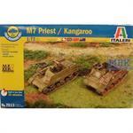 M7 Priest 105mm HMC und Kangaroo Munitionsschleppe
